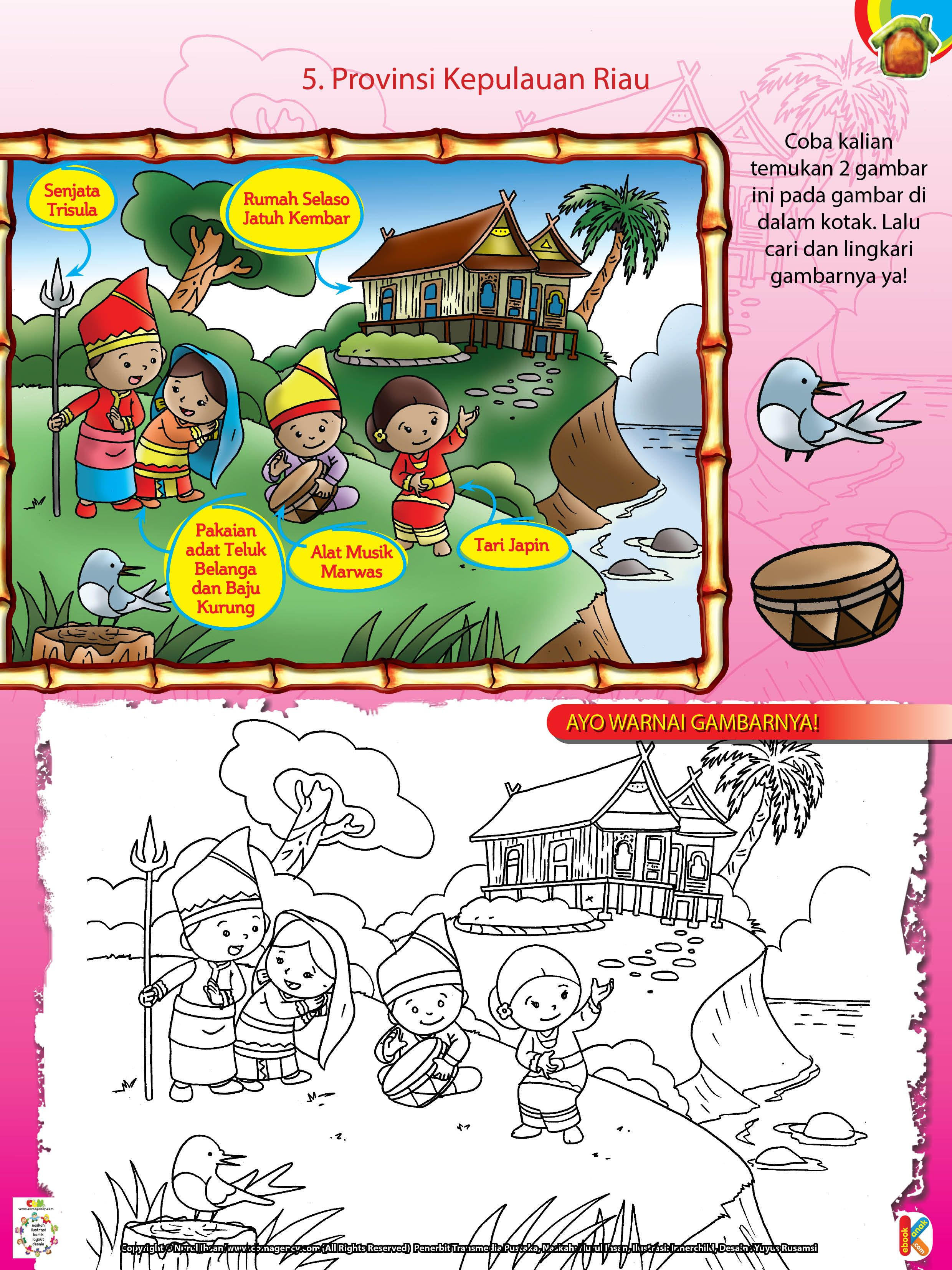 Pakaian Adat Belanga Kepulauan Riau