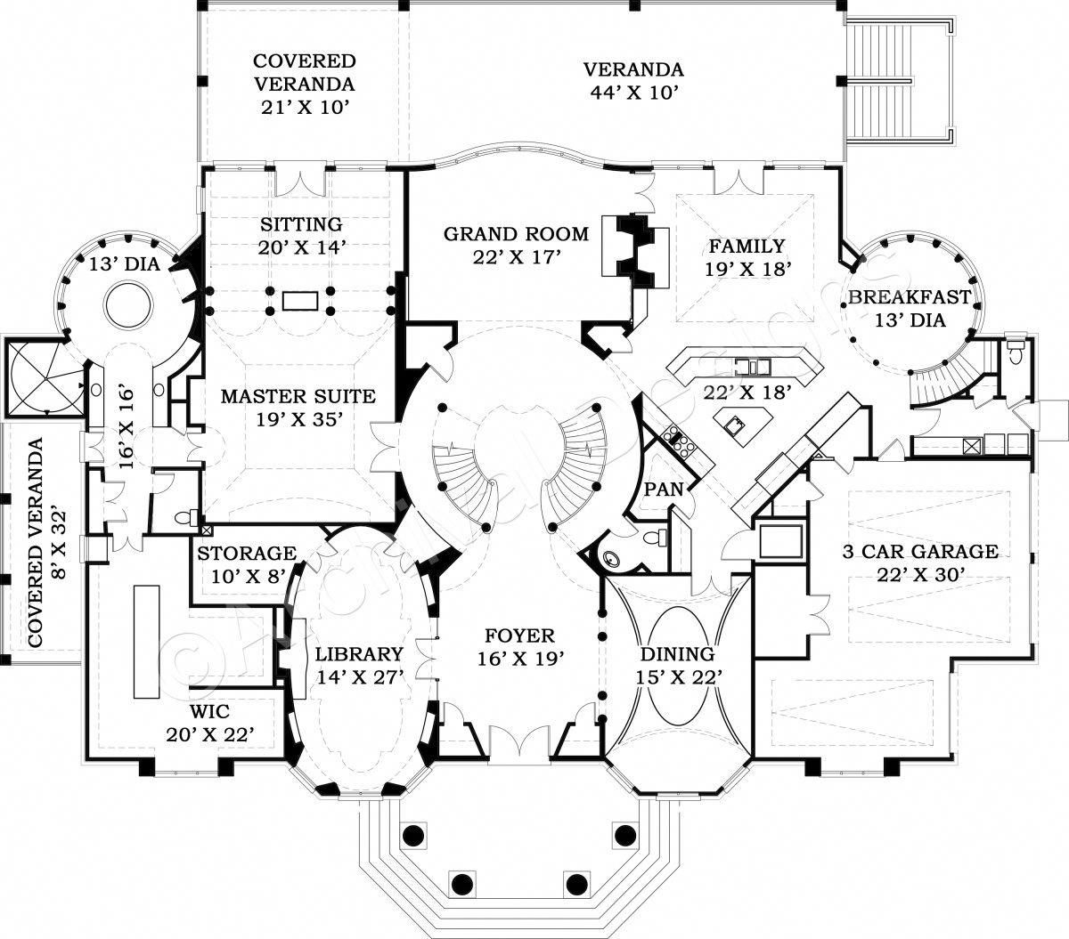 Make your own house plans online for free  Ashburton House Plan Ashburton House Plan  First Floor Plan