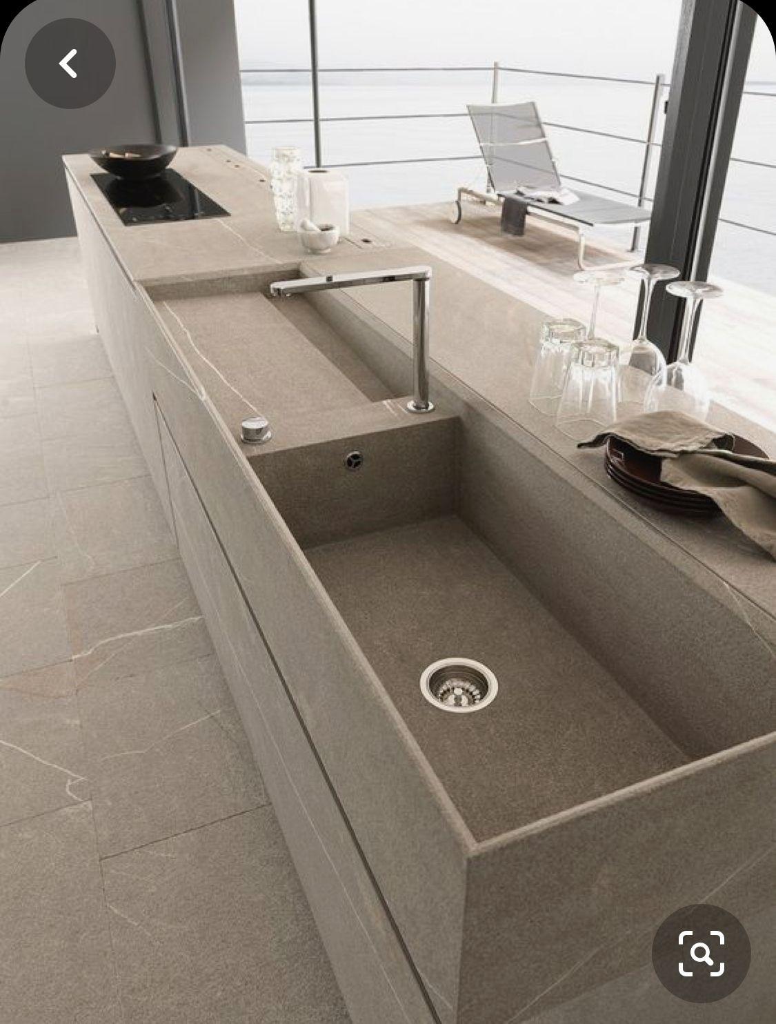 Pin by S G on Kitchen Sink in 2020 Modern kitchen design