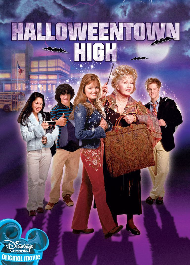 All Of The Best Halloween Disney Movies Halloweentown High Halloween Town Movie Disney Channel Halloween