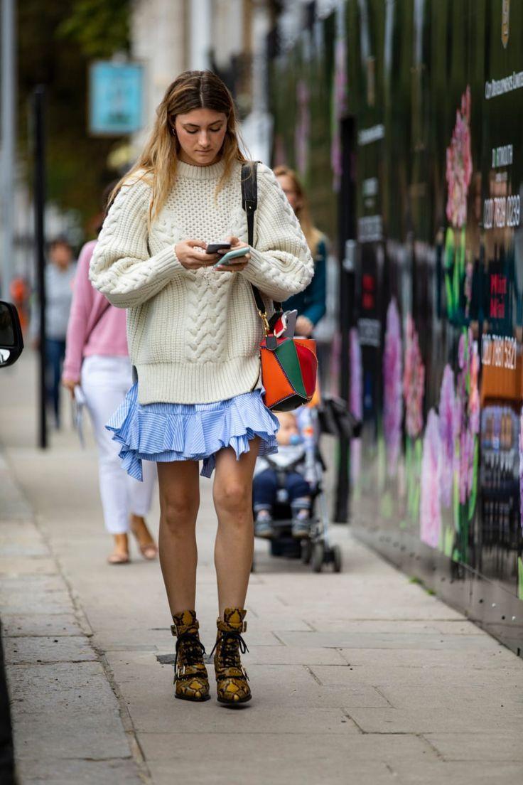 Die besten StreetstyleLooks der London Fashion Week Spring 2019 Die besten StreetstyleLooks der London Fashion Week Spring 2019