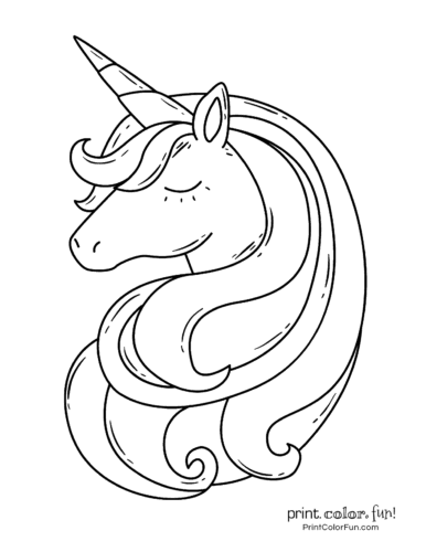 100 Magical Unicorn Coloring Pages The Ultimate Free Printable Collection At Print Color Unicorn Coloring Pages Unicorn Pictures To Color Unicorn Artwork