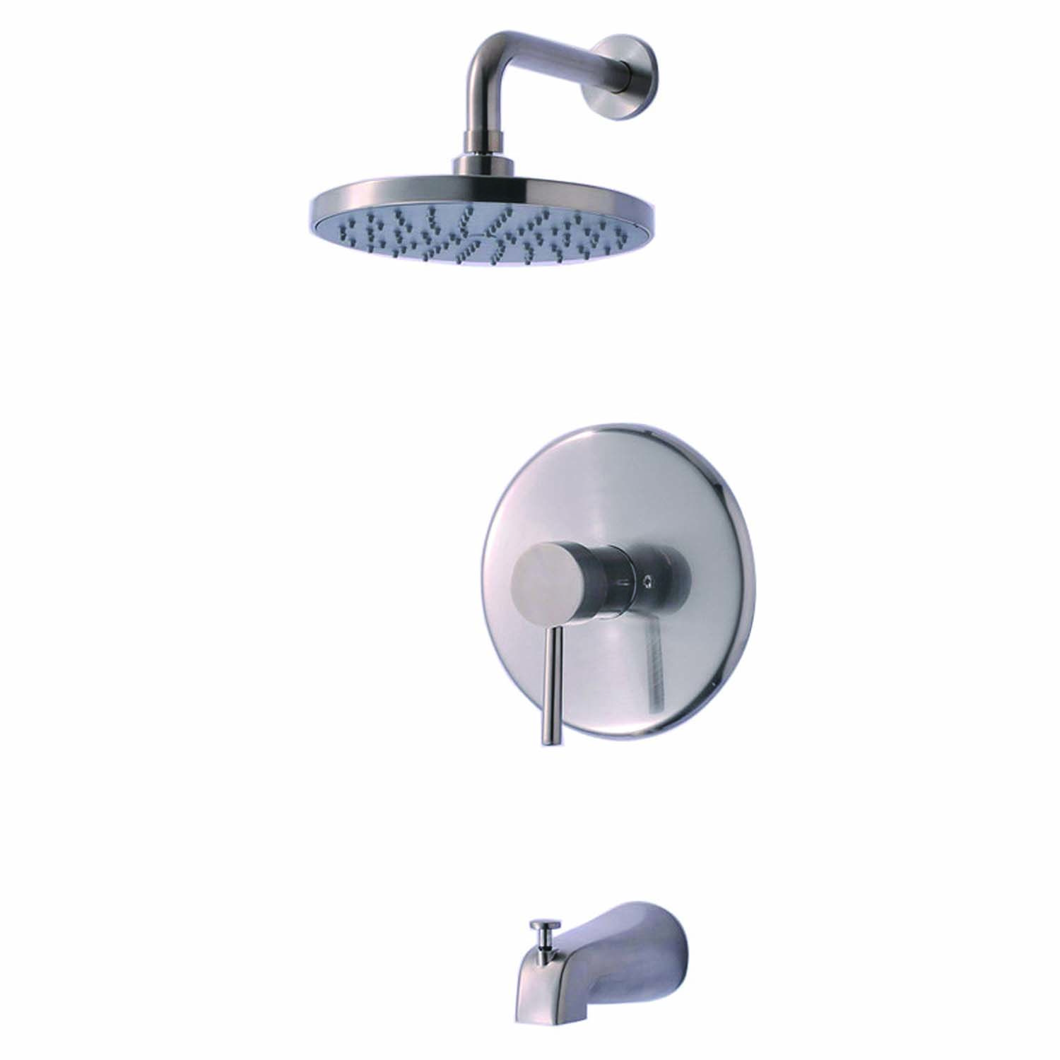 Ultra Faucets Uf79503 Euro Collection Single Handle Tub And Shower