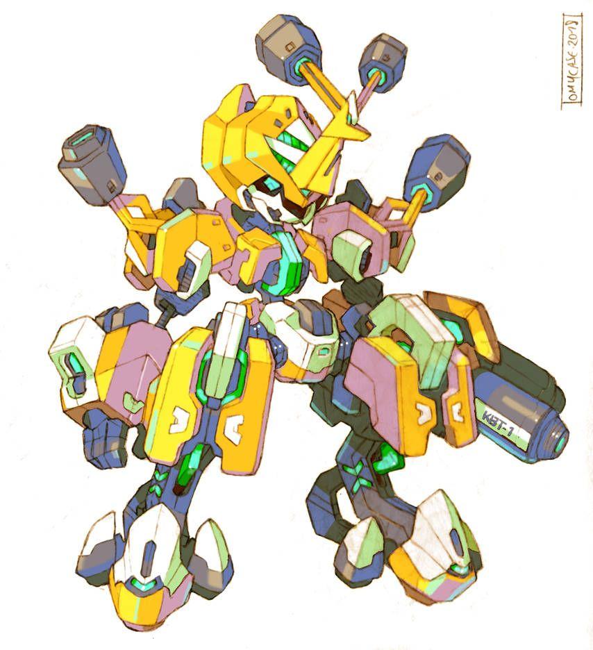 medabot metabee redesign by tomycase on deviantart robot design sketch robot concept art robot art