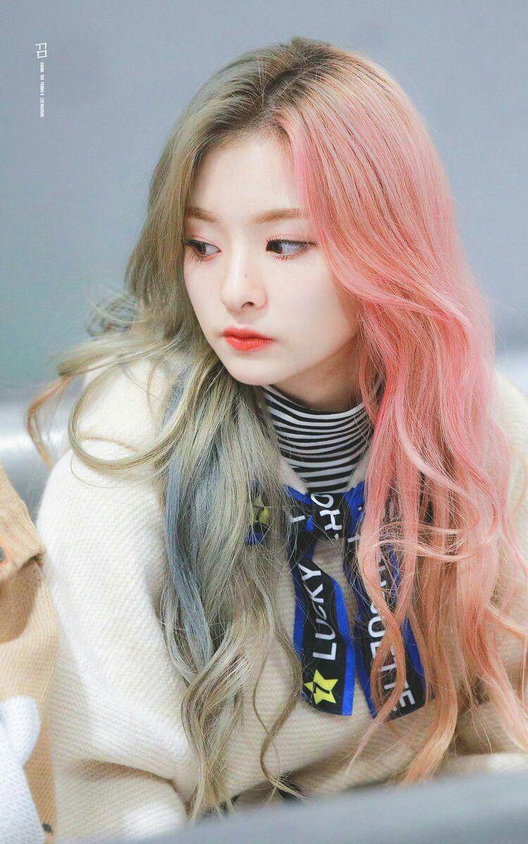 nagyung #fromis9 #kpop   Gaya rambut cantik, Warna rambut, Rambut pastel