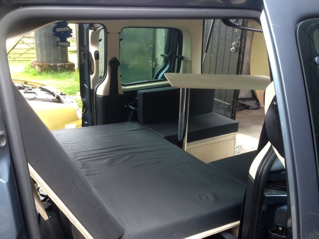 Berlingo Partner Yeti Vaneo Torneo Caddy Small Van Car Camper Conversion 6 O GBP65000