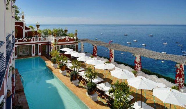 The Best Luxury Hotels Along Amalfi Coast