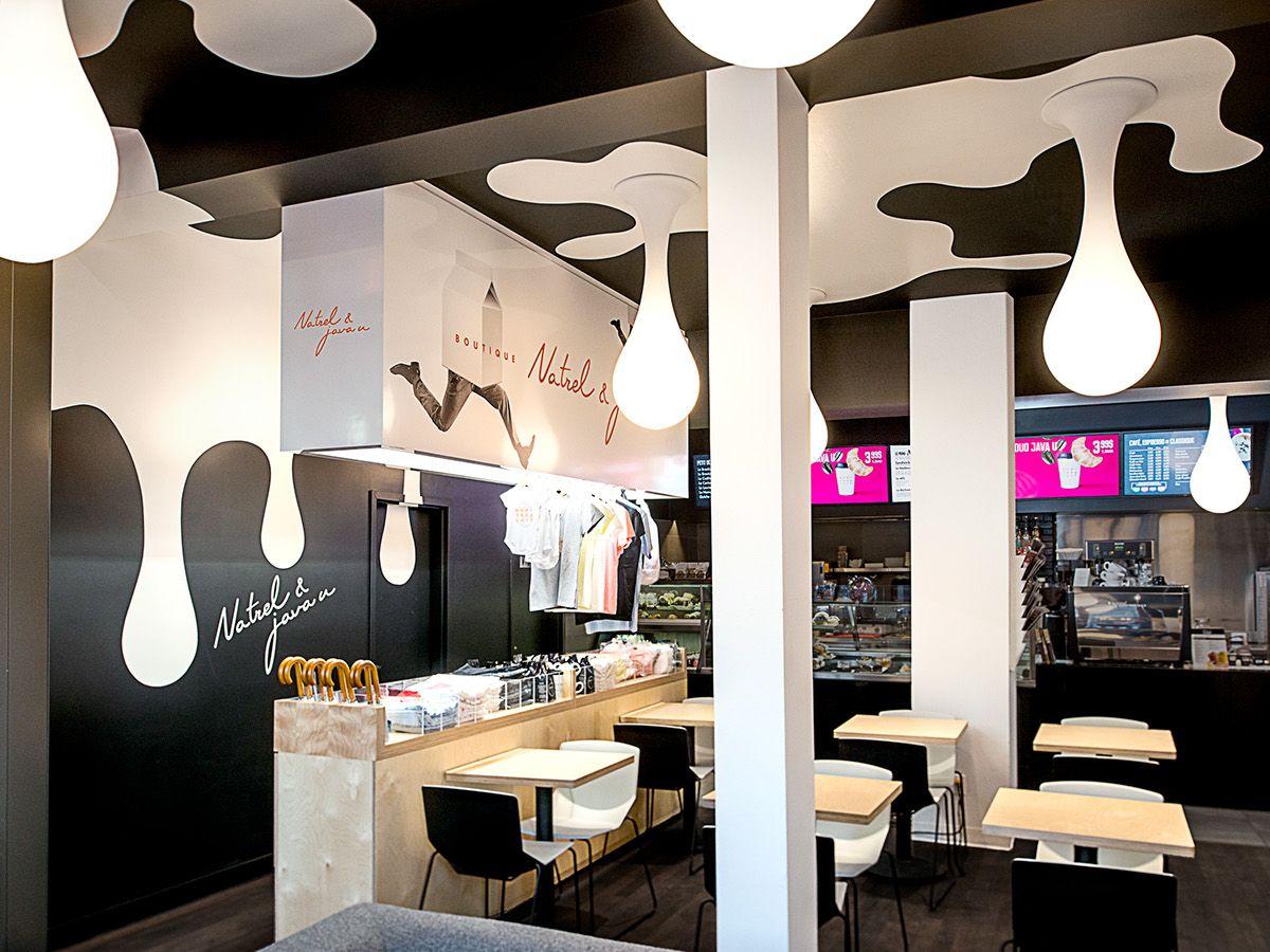 Natrel Milk Bar Lg2boutique On Behance With Images Bar