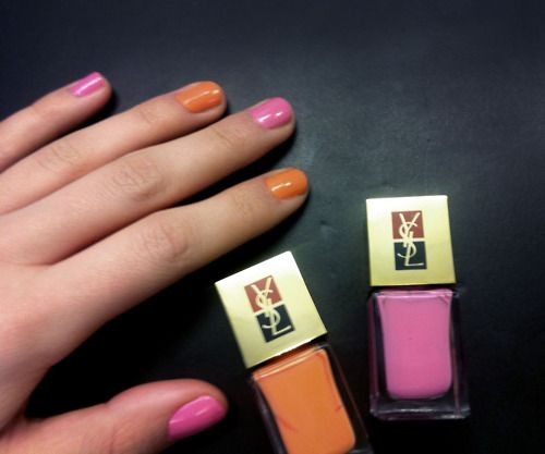 Love this combination from YSL!
