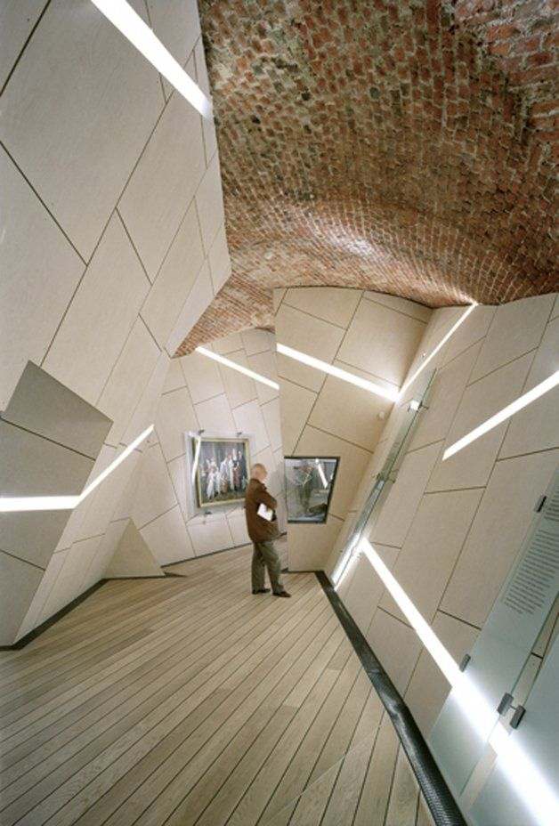Danish jewish museum in copenhagen denmark by studio for Daniel libeskind architectural style