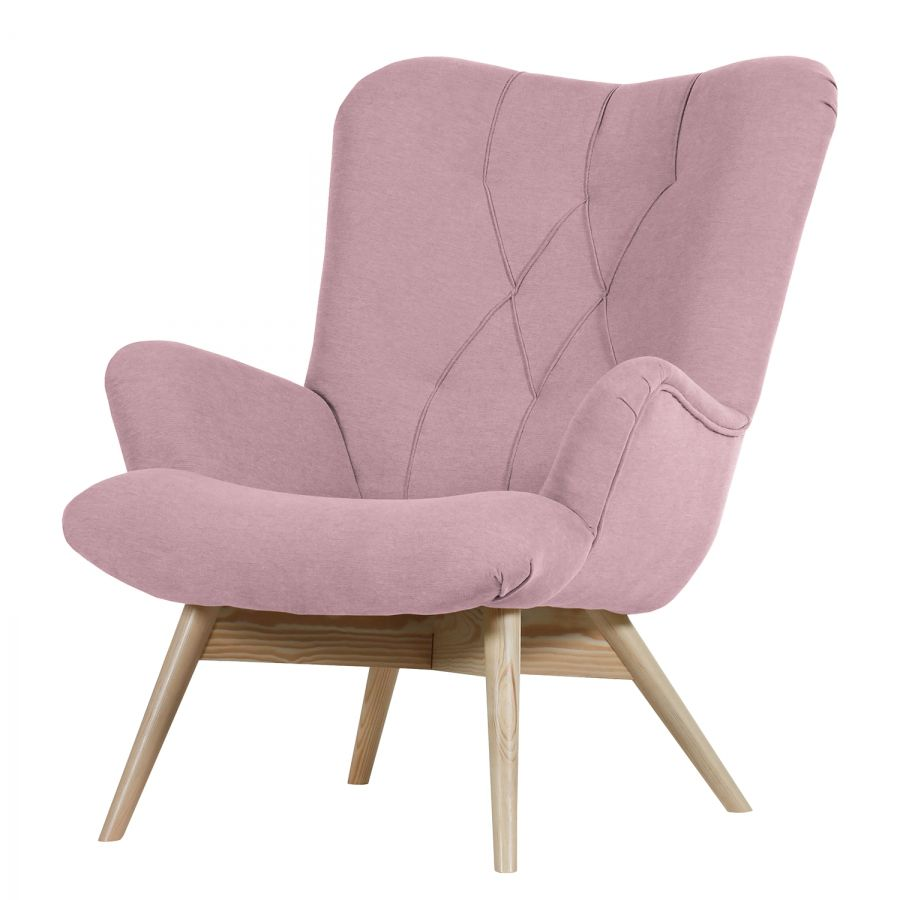 Sessel Pastellblau Sessel Tias Webstoff - Mauve € 449,99 | Home Decoration