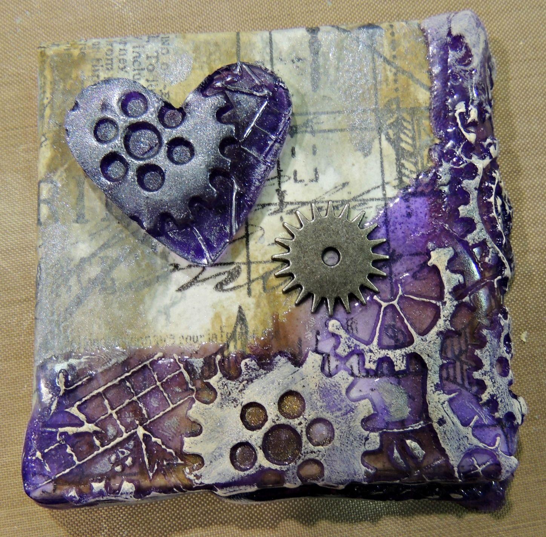 Pandora's Craft Box: Craft and Hobby Association (CHA 2013) as Melt Art! small canvas