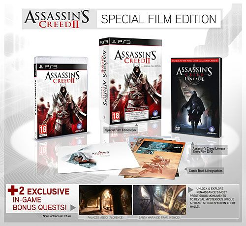 A Copy Of Assassin S Creed Ii 2 In Game Bonus Missions Palazzo