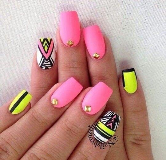 yellow nails design - Pesquisa Google - Yellow Nails Design - Pesquisa Google Just Plane Adorable :3
