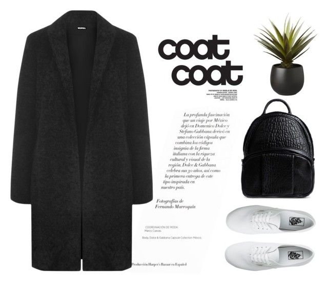 """coat coat"" by wearall ❤ liked on Polyvore featuring мода, WearAll, Vans, CB2 и Alexander Wang"
