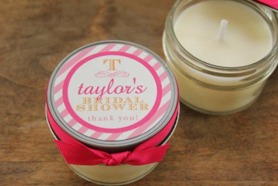50 best bridal shower favors soy candle favors by lulu sugar