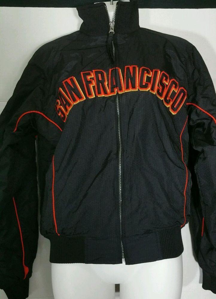 big sale c108d c9c8c Vintage San Francisco Giants Authentic Majestic Jacket Small ...