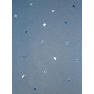 Lovely Tapete blau Sterne Kinderzimmer