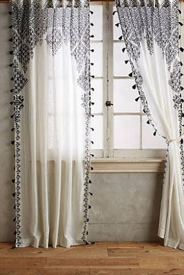 The Bohemian Home With Images Curtains Living Room