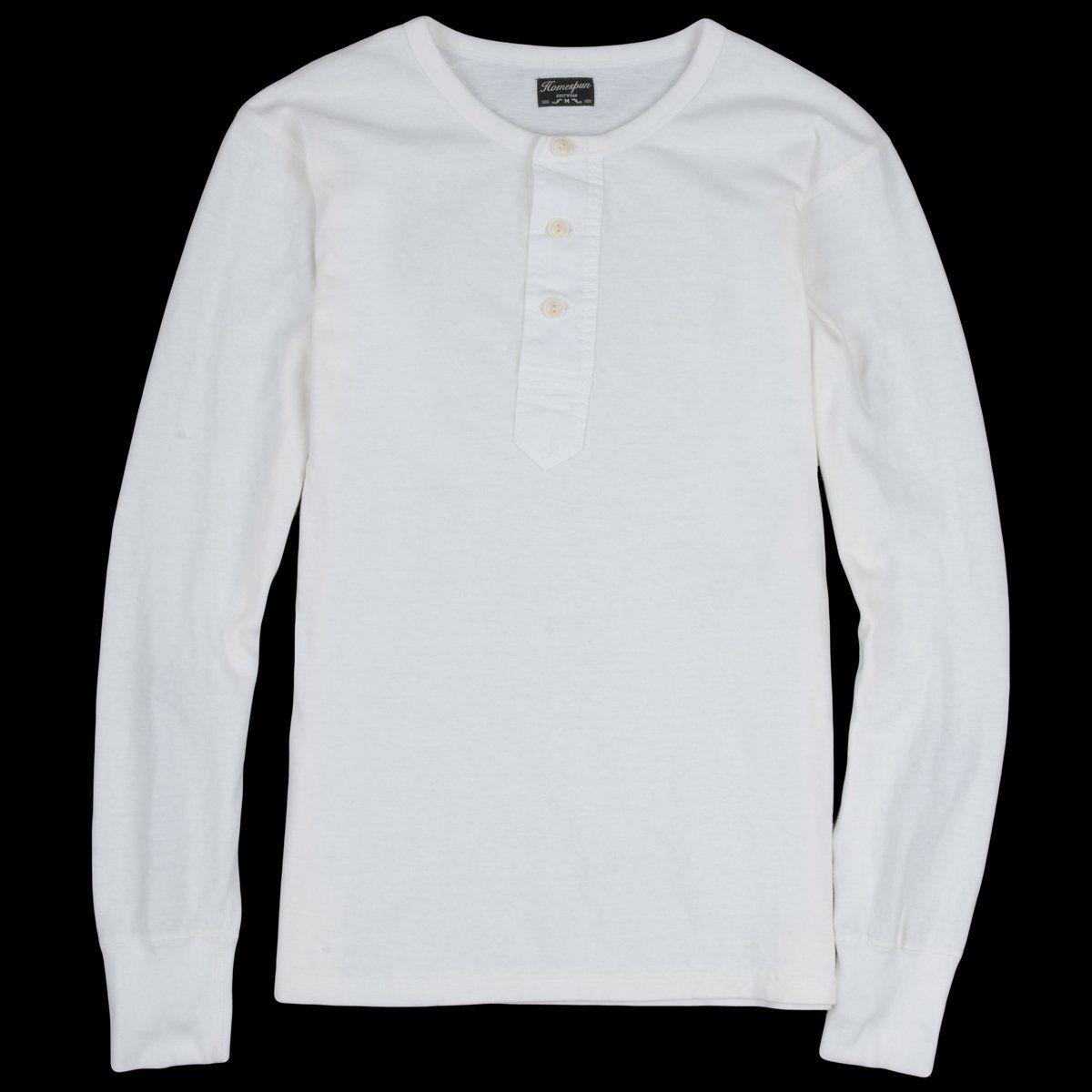 Homespun Knitwear Zimbabwe Jersey Surplus Henley In Off White Henley Retro Outfits Knitwear