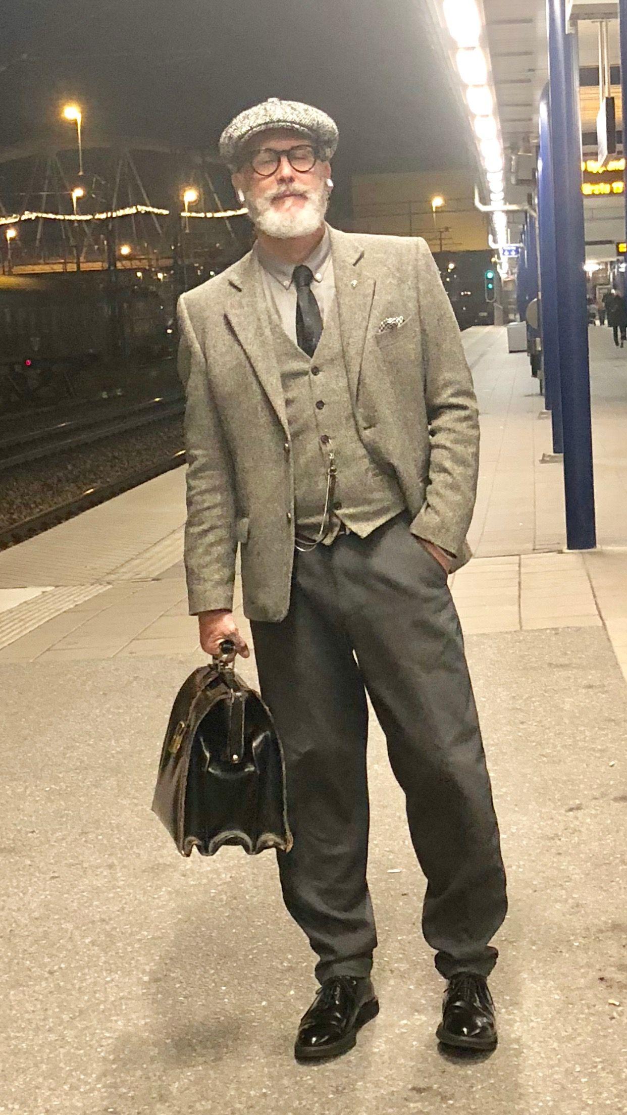 Pin Von Patrick Plotz Auf Yo Vintage Mode Herren Manner Mode Manner Outfit