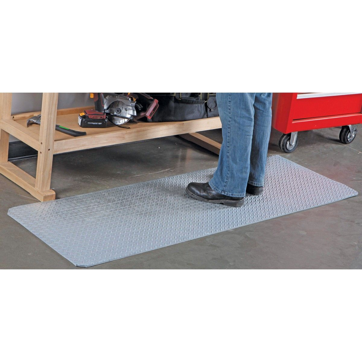 Garage Flooring Harbor Freight Check Out The Anti Fatigue Roll Mat And Work In Comfort Easily