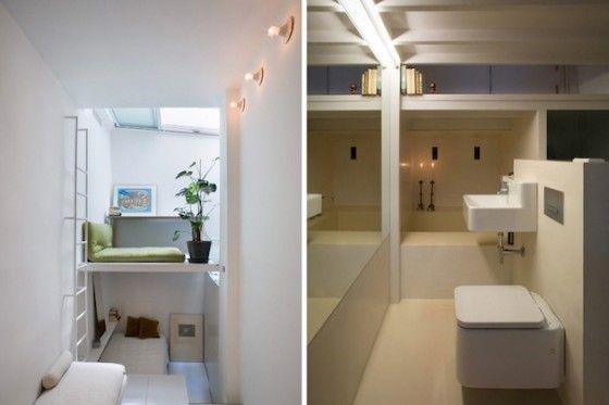 Dit kwam op de website Froot.nl: Klein verticaal huis van 18 m² in Madrid is zeer efficiënt. http://ow.ly/pG9g5 Erg gaaf!