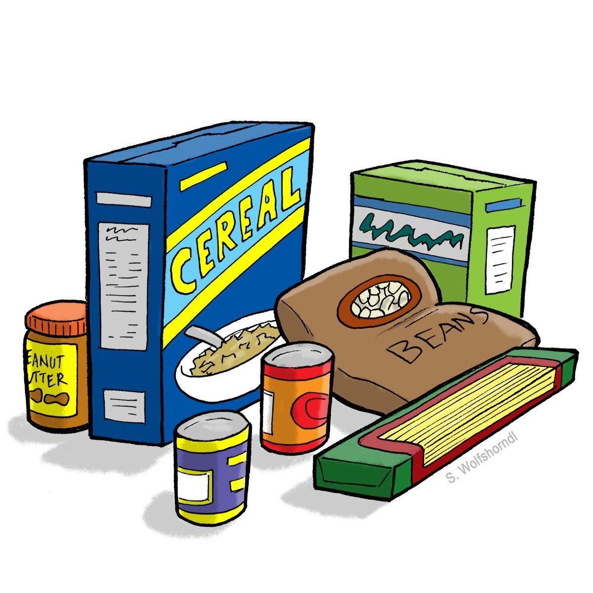Best Food Drive Clip Art 11547 … Food