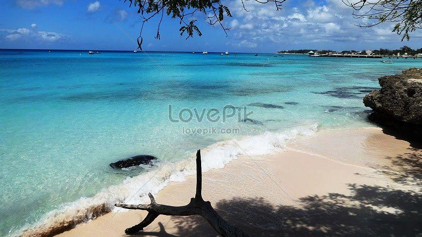 27 Pemandangan Indah Adalah Pemandangan Laut Dan Pantai Yang Indah Di Barbados Adalah Download Karena Setiap Waktu Adalah Pem Di 2020 Pemandangan Pantai Di Pantai