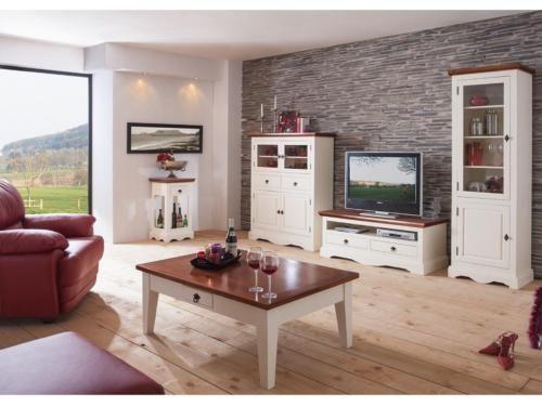 Couchtisch Beistelltisch Landhaus massiv weiß B120cm NEU in - wohnzimmer landhausstil gebraucht