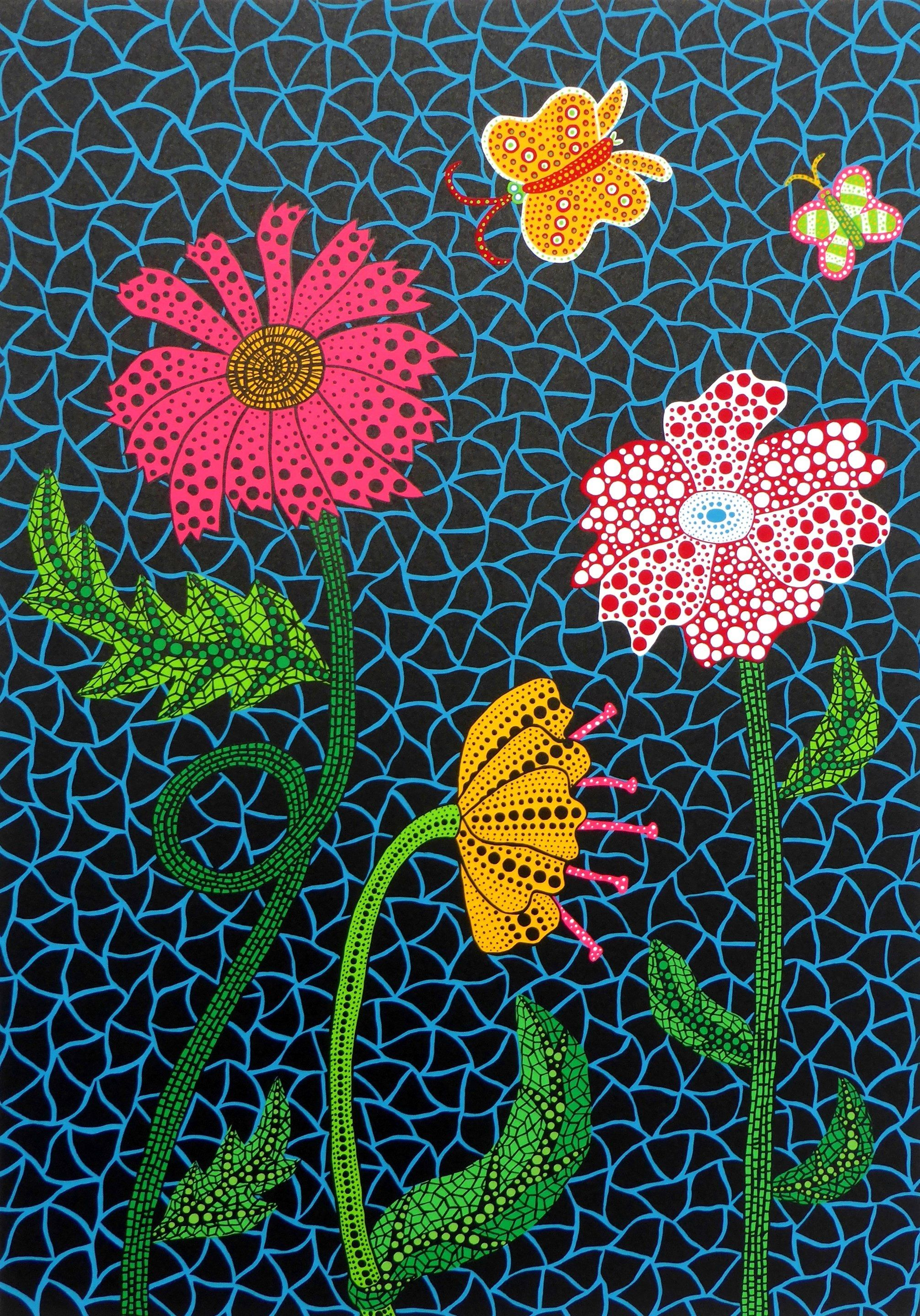 Yayoi Kusama Flowers Find This Piece Among Kusama S Works For Sale On Artnet