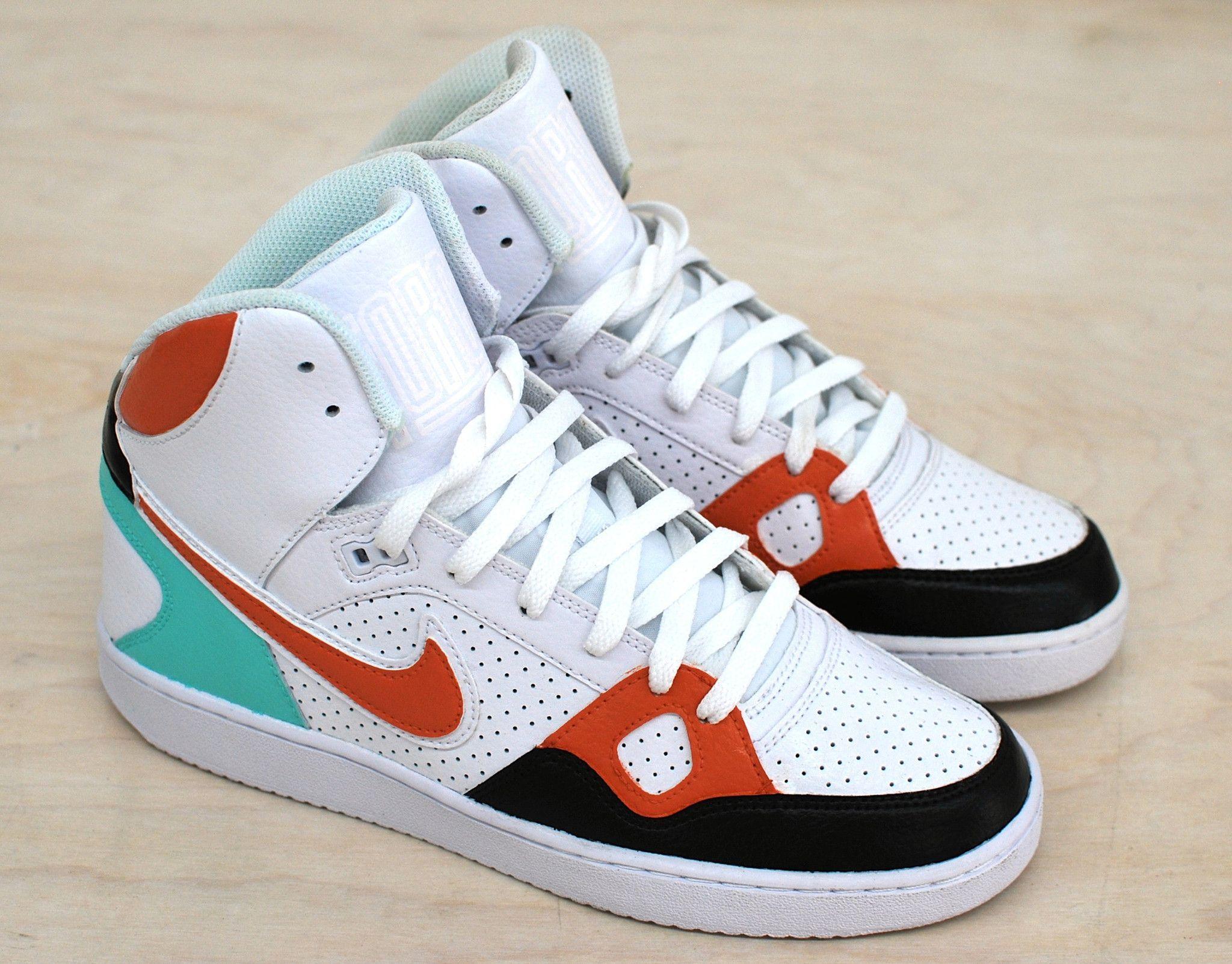 Son of Force - Custom Hand Painted Nike Sneakers