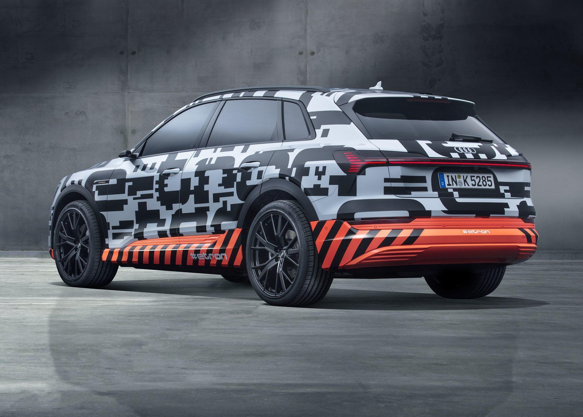 Descargar fondos de pantalla Audi e tron Sportback 2018 4k concepto SUV vehculos eléctricos coches alemanes el Audi carros Pinterest