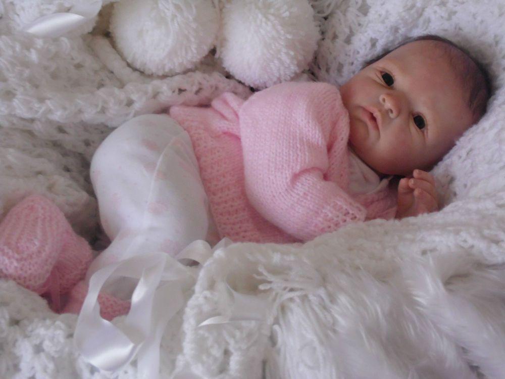 Real Babyzimmer ~ Seventh heaven reborn realistic baby girl doll nina gudren legler