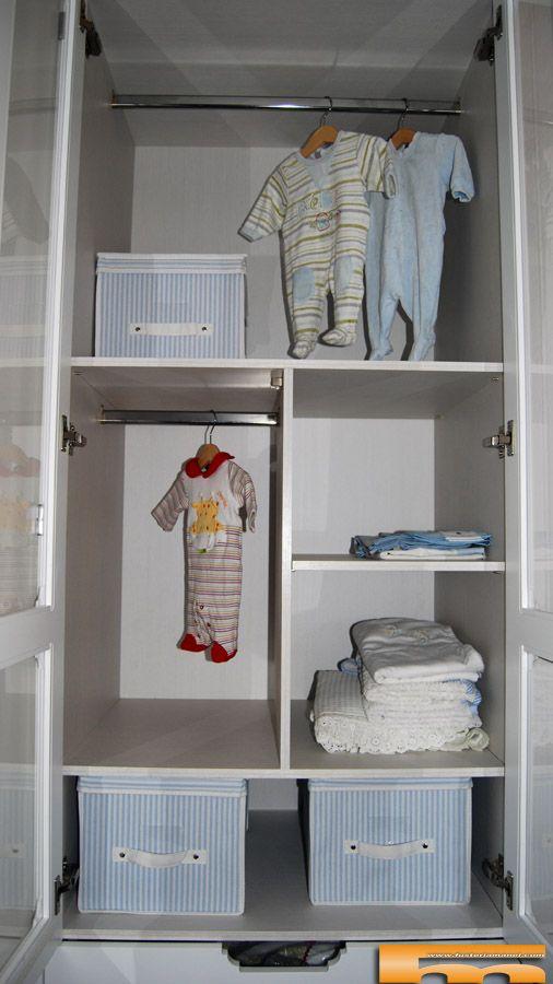 Armarios infantiles a medida interior closet 39 s de otras for Organizar armarios empotrados