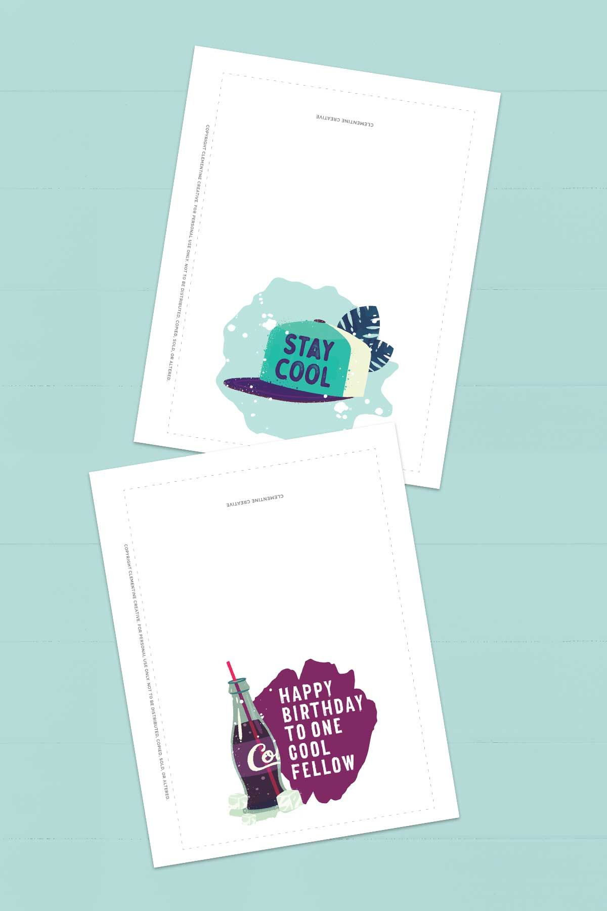 Free Printable Birthday Cards for Him Gifts for Dads