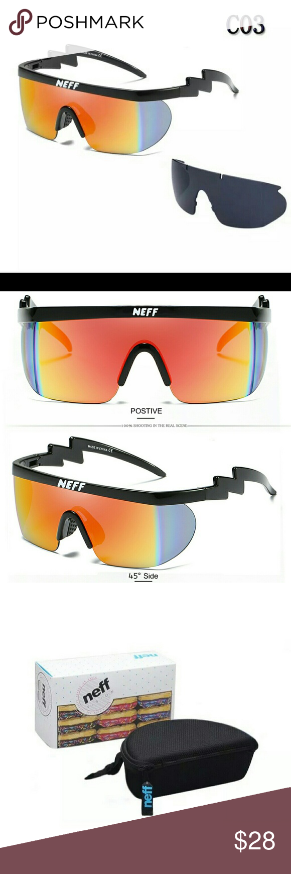 2e04accde2f7f Neff Brodie  Riff Raff  UV 400 Sunglasses C03 Neff Brodie  Riff Raff ...