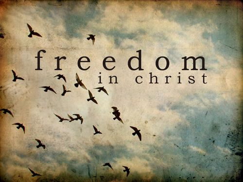 Where the Spirit of the Lord is there is freedom   That