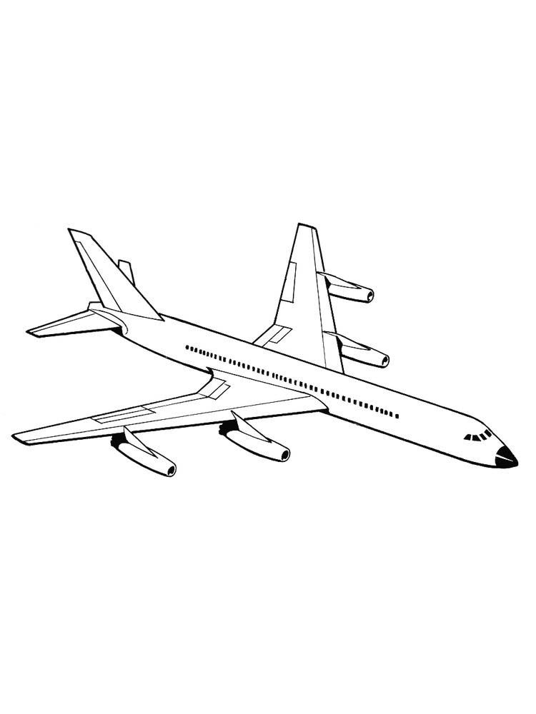 Small Airplane Drawing : small, airplane, drawing, Plane, Coloring, Pages, Print, Below, Collection, Airplane, Down…, Pages,, Super