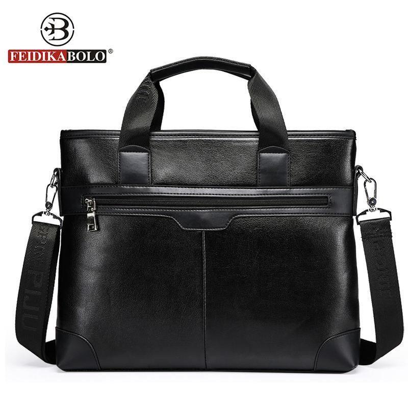 Famous Brand Bag Men Messenger Bags Portadocumentos Maletin Hombre Men  Leather Laptop Tote Bags Men s Briefcases aktentasche  brandedbags 3fba66c7c7e84