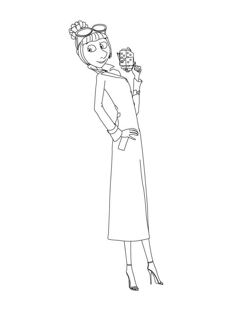 Gru And This New Friend Coloring Page More Despicable Me Coloring