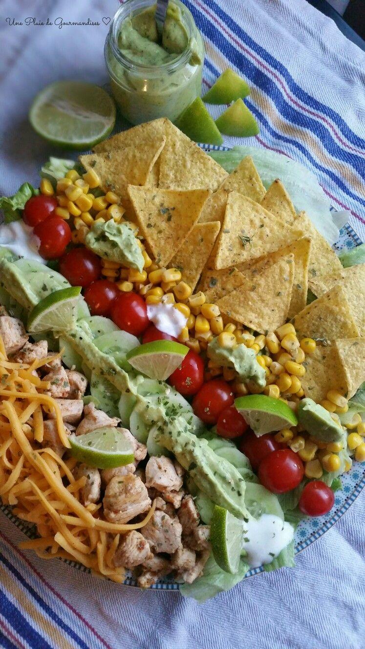 Salade façon tacos