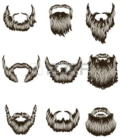 Use as a template for DIY play mustaches and beards!!