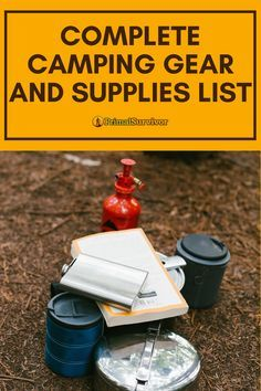 Photo of Complete Camping Gear and Supplies List
