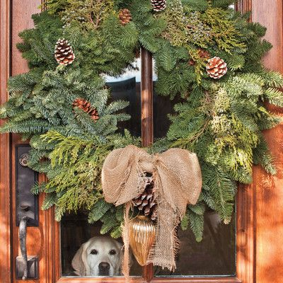 Most Pinned Christmas Decorating Ideas Southern living, Wreaths - southern living christmas decorations