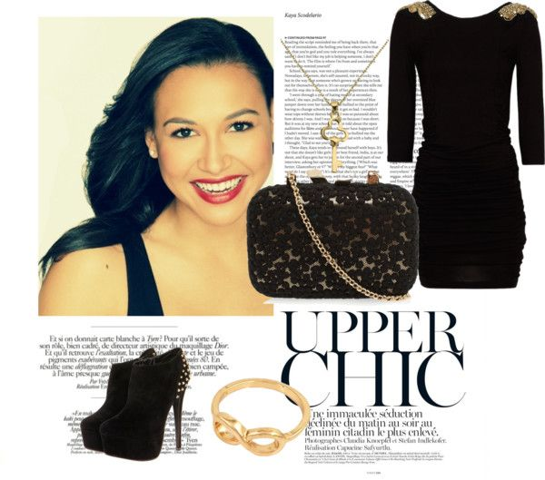"""Naya Rivera"" by gabiisvakk on Polyvore"