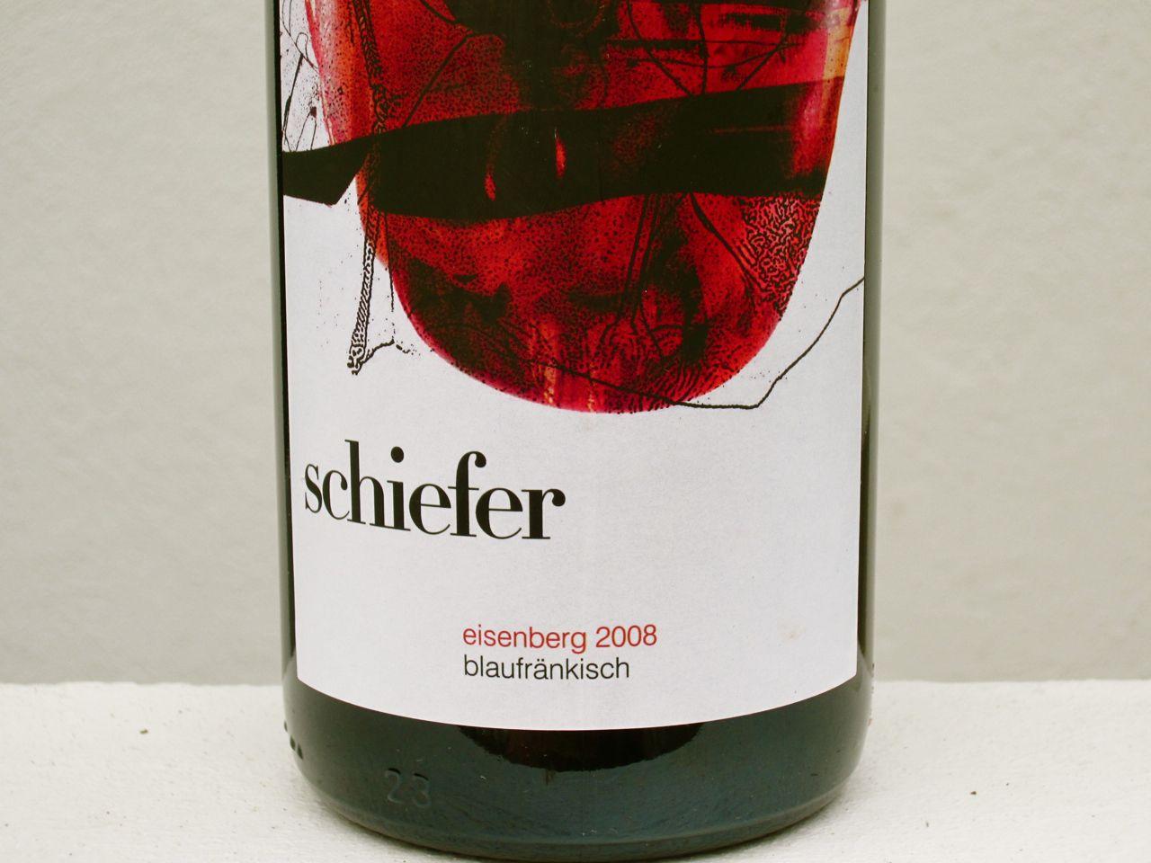 Uwe Schiefer S Blaufraenkisch Eisenberg A Great Wine In Its Class