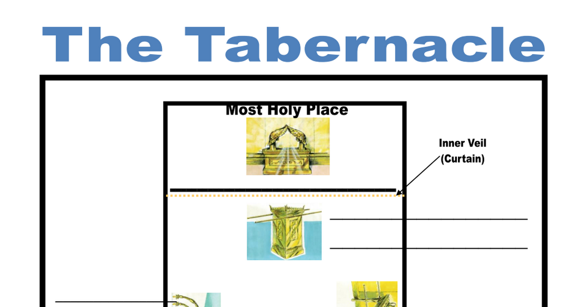Tabernacle fill in the blank pages FFG pdf | Art | Blank