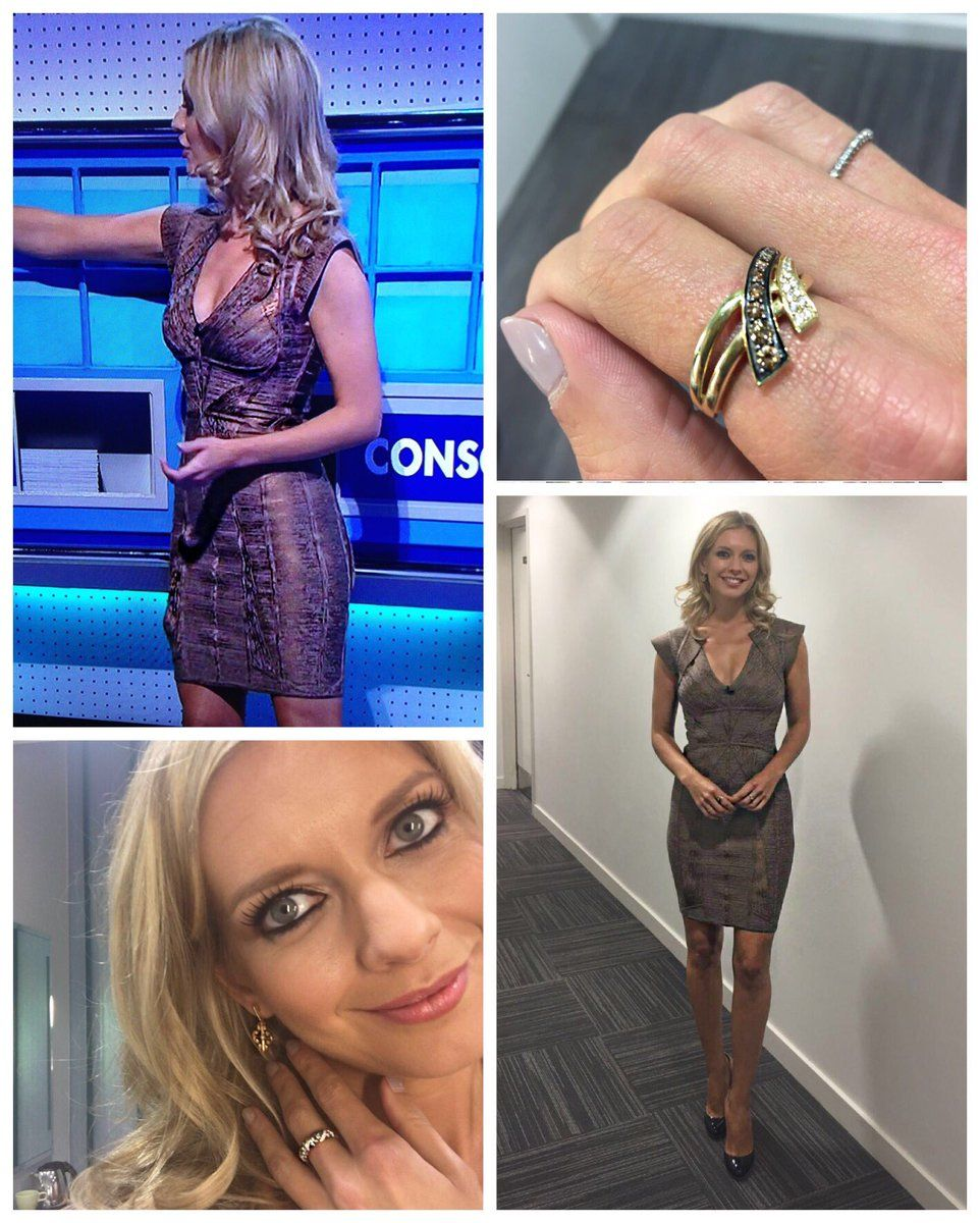 Rachel Riley Wearing The Gold Vermeil Nomad Ring On 8 Out Of 10 Cats Does Countdown 8 Out Of 10 Cats Rachel Riley
