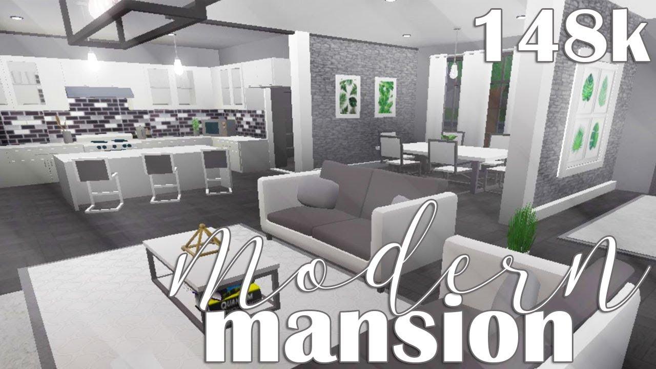 Bloxburg House Ideas Modern Mansion Google Search Luxury House Plans Modern Mansion Tiny House Layout